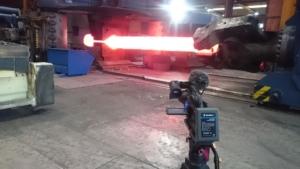 Filmproduktion bei den Pressen